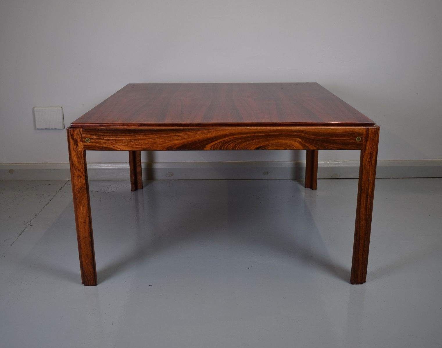 Exceptional Danish Rosewood Coffee Table By Illum Wikkelso For Silkeborg, 1960s