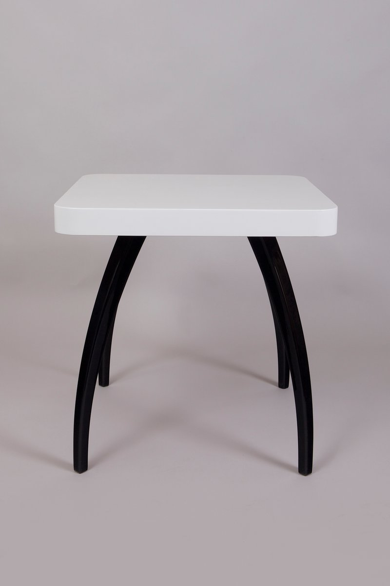 Vintage Black And White Coffee Table By Jind Ich Halabala For Sale At Pamono