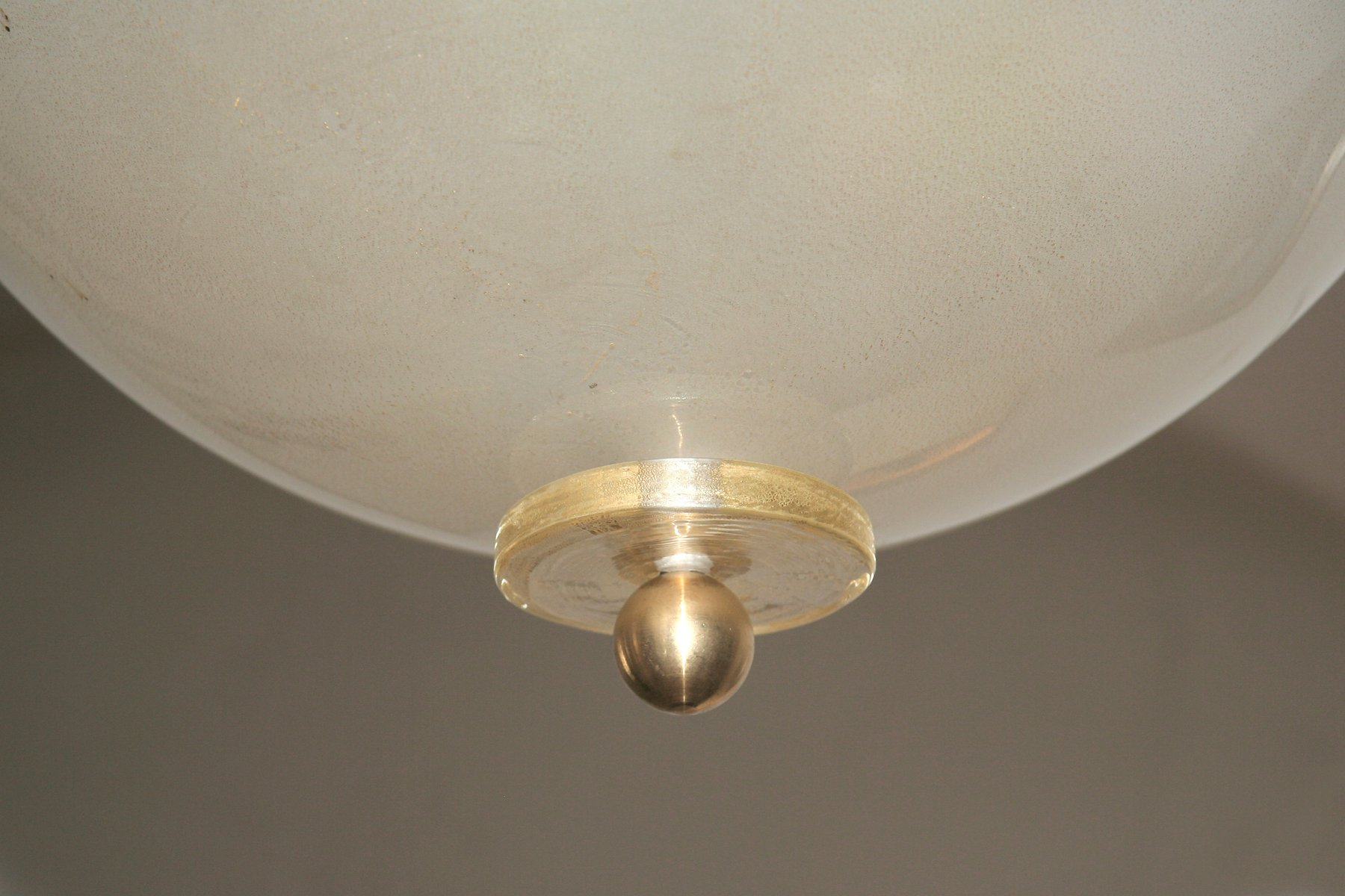 Italian Murano Glass Ceiling Light 1970s For Sale At Pamono