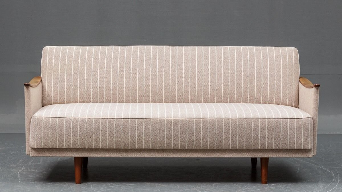 vintage danish 3 seater sofa for sale at pamono