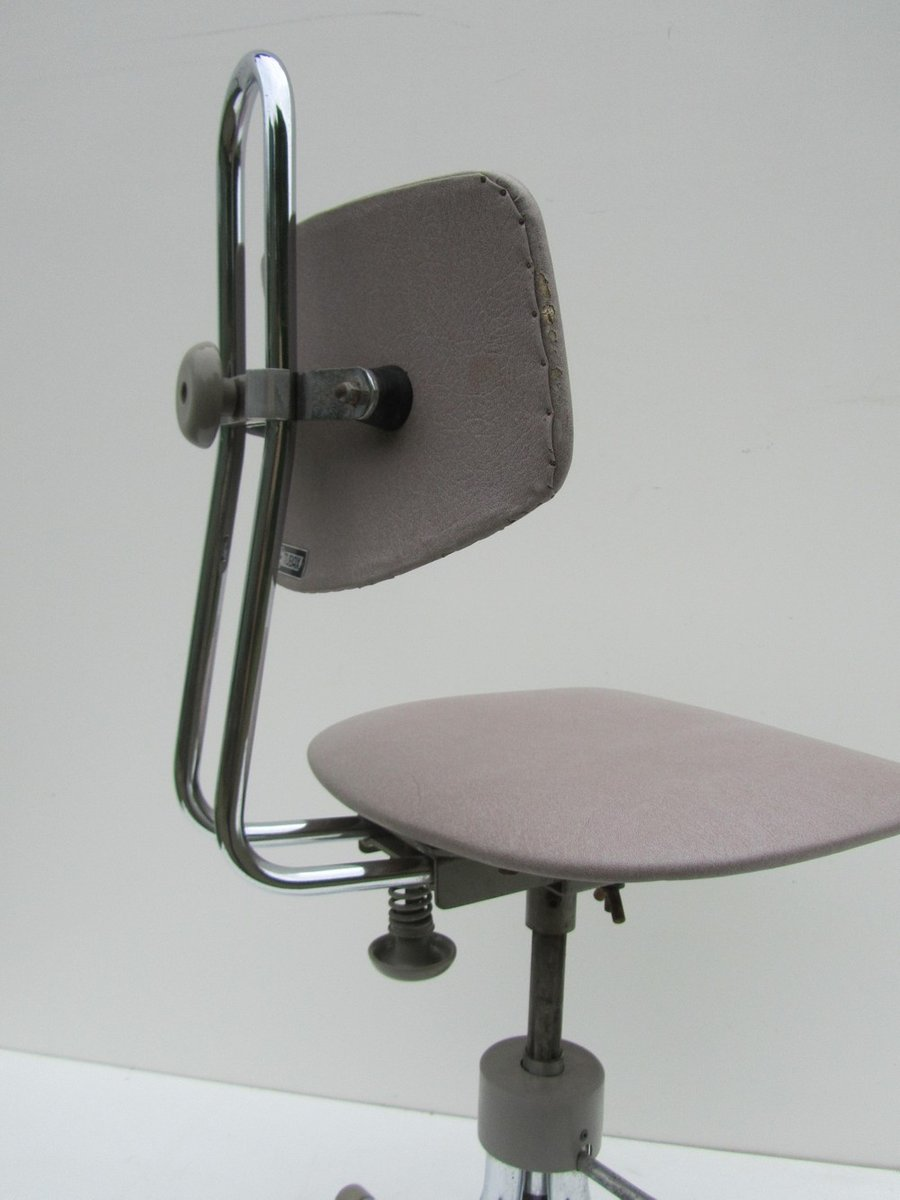 Adjustable Swivel Office Chair from Tubax 1940s for sale  : adjustable swivel office chair from tubax 1940s 6 Swivel Desk Chairs <strong>On Rollers</strong> from www.pamono.com.au size 900 x 1200 jpeg 45kB