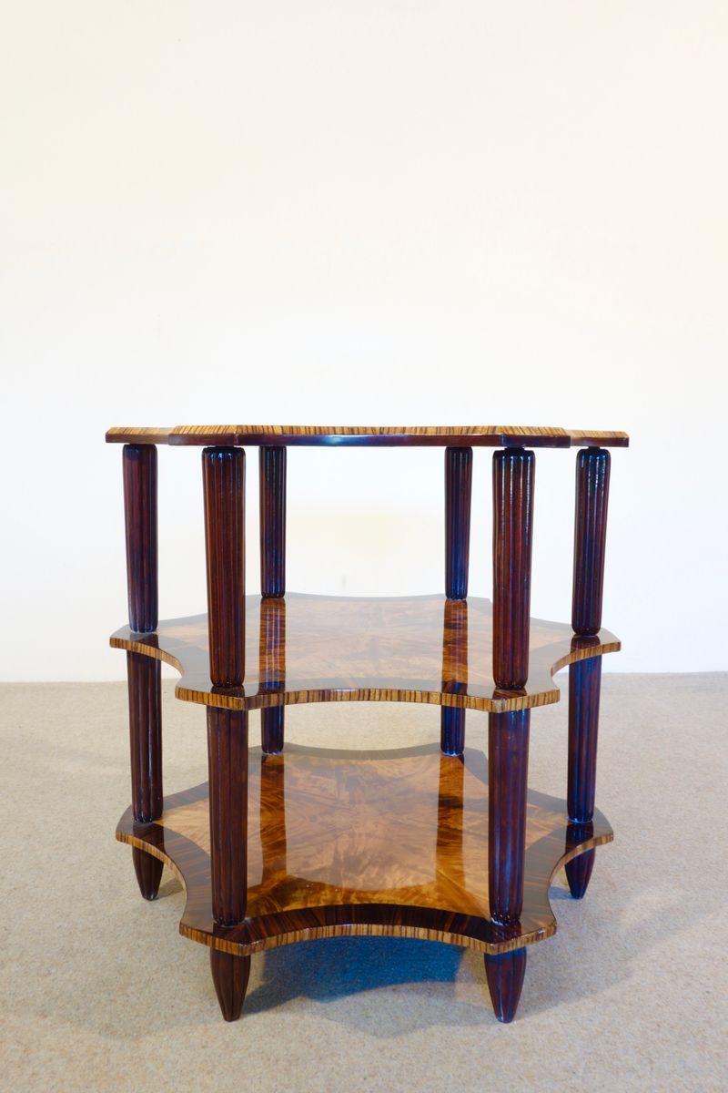 art d co zitronenbaum beistelltisch 1930er bei pamono kaufen. Black Bedroom Furniture Sets. Home Design Ideas