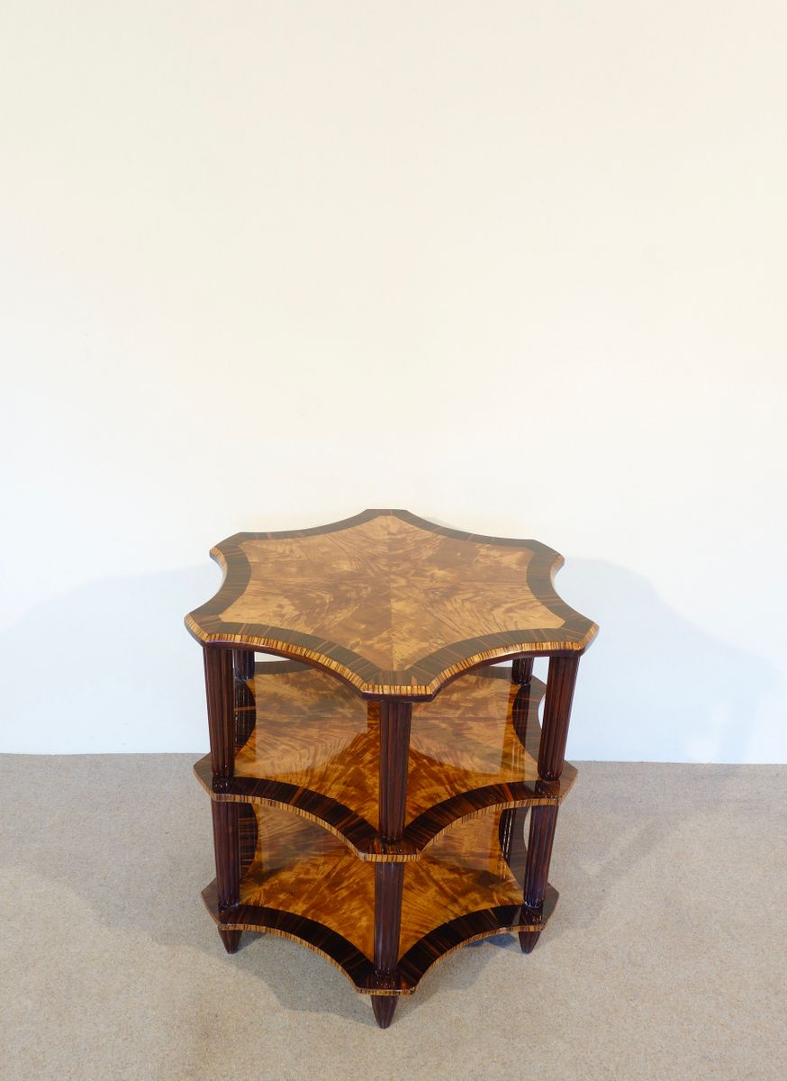 Art d co lemonwood side table 1930s for sale at pamono for Meuble art deco 1930