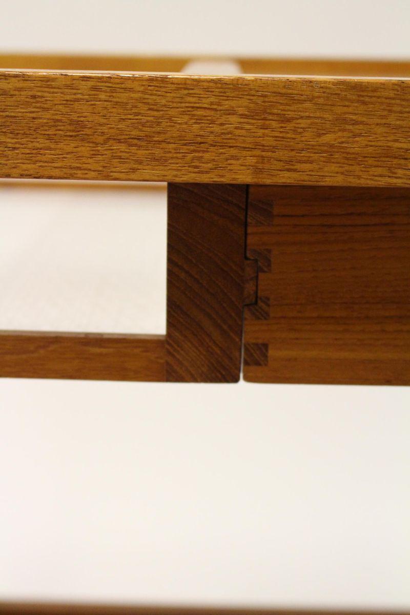 vintage teak servierwagen mit laminierter ablage von di m bler sweden bei pamono kaufen. Black Bedroom Furniture Sets. Home Design Ideas
