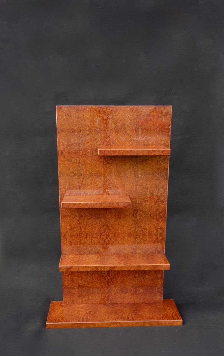 Art d co geometric bookshelf 1930s for sale at pamono for Miroir art deco 1930