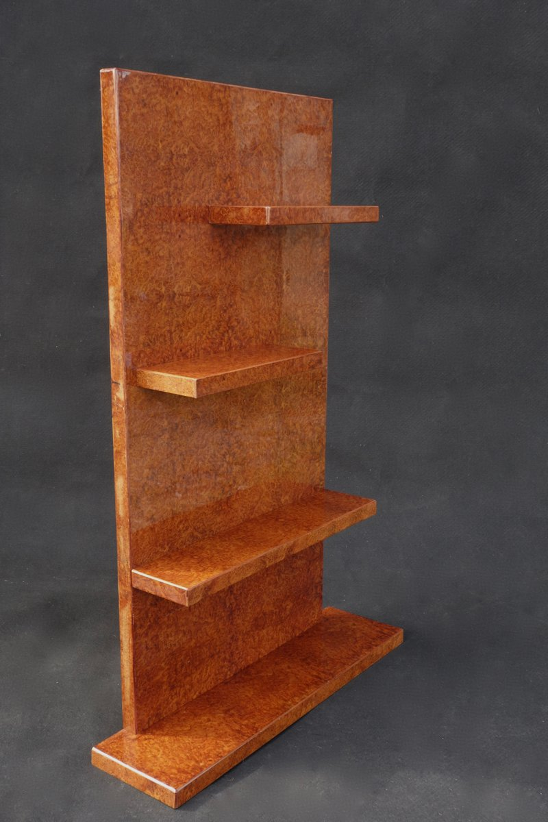 Art d co geometric bookshelf 1930s for sale at pamono for Miroir art deco 1930
