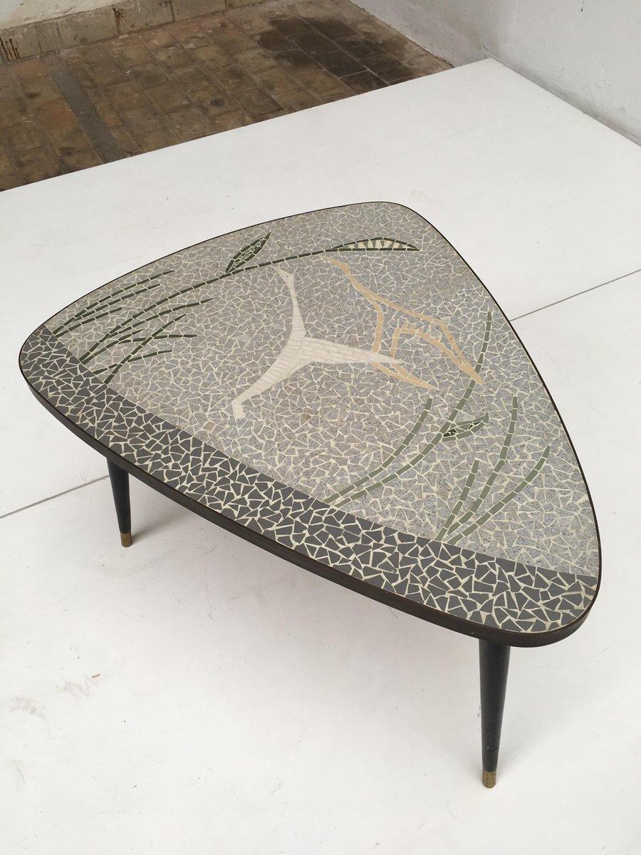 deutscher couchtisch aus messing mosaik mit fliegendem. Black Bedroom Furniture Sets. Home Design Ideas