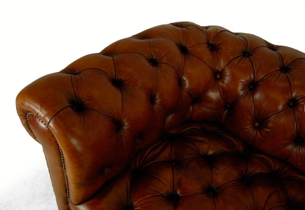 Vintage Tan Leather 35