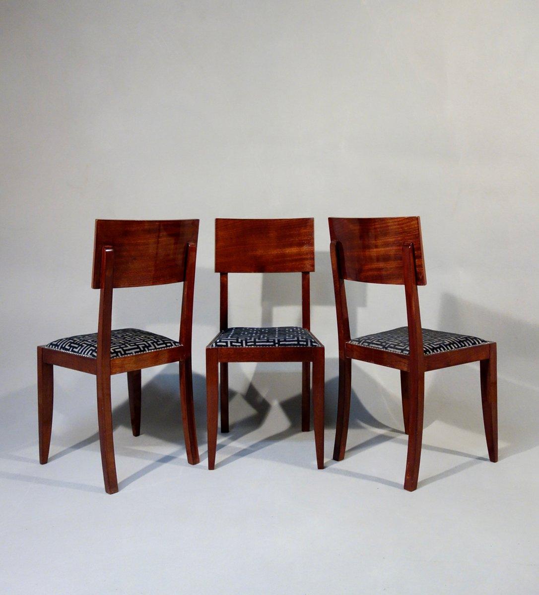 art deco st hle 1930er 6er set bei pamono kaufen. Black Bedroom Furniture Sets. Home Design Ideas