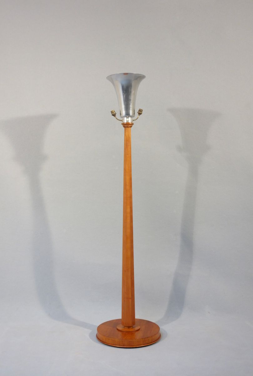 Art d co truncated cone floor lamp 1930s for sale at pamono for 1930s floor lamp