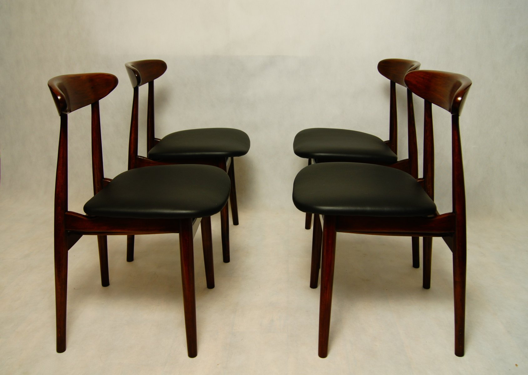vintage type 5912 polish dining chairs from zamojskie