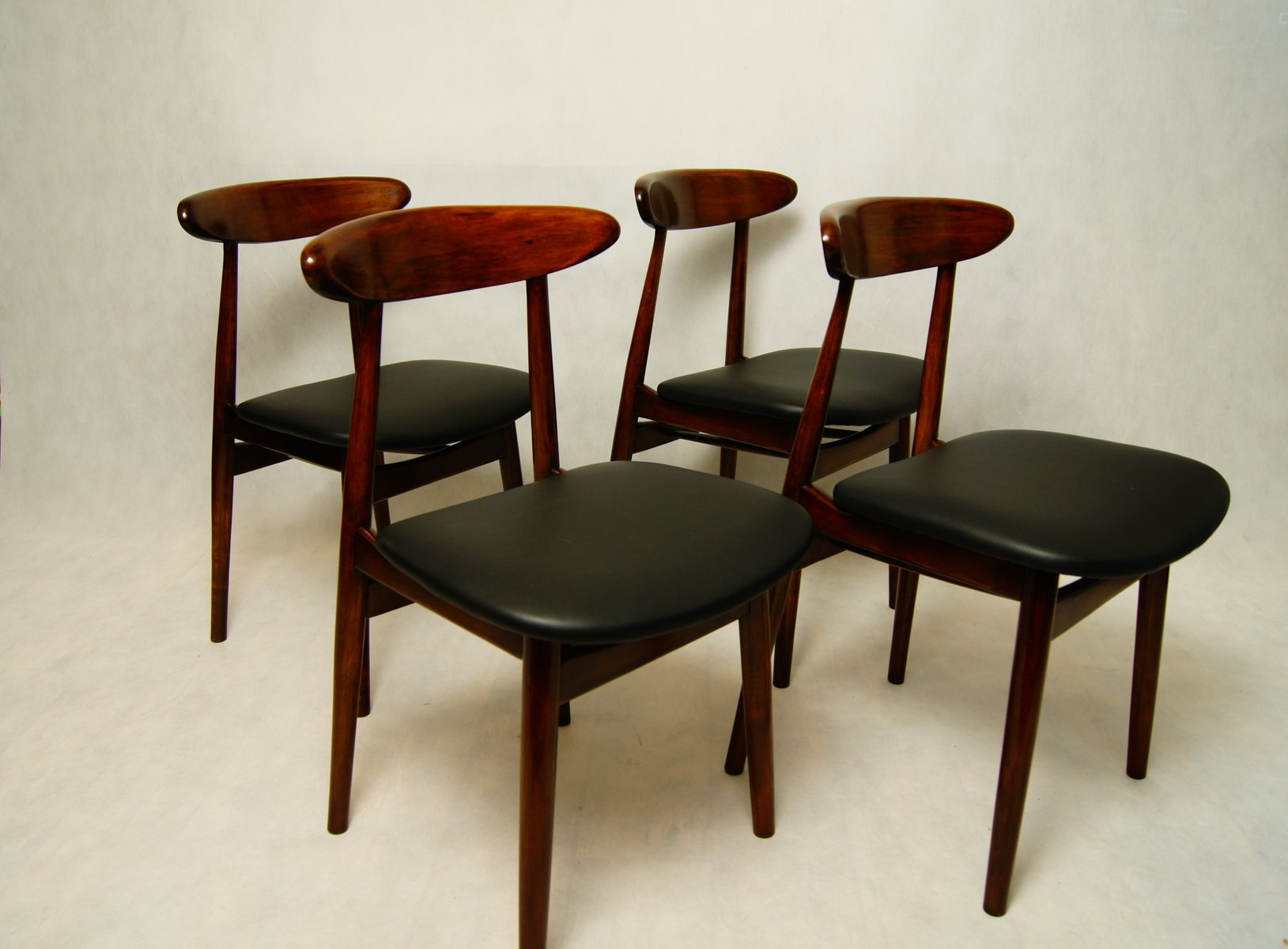 Vintage type polish dining chairs from zamojskie