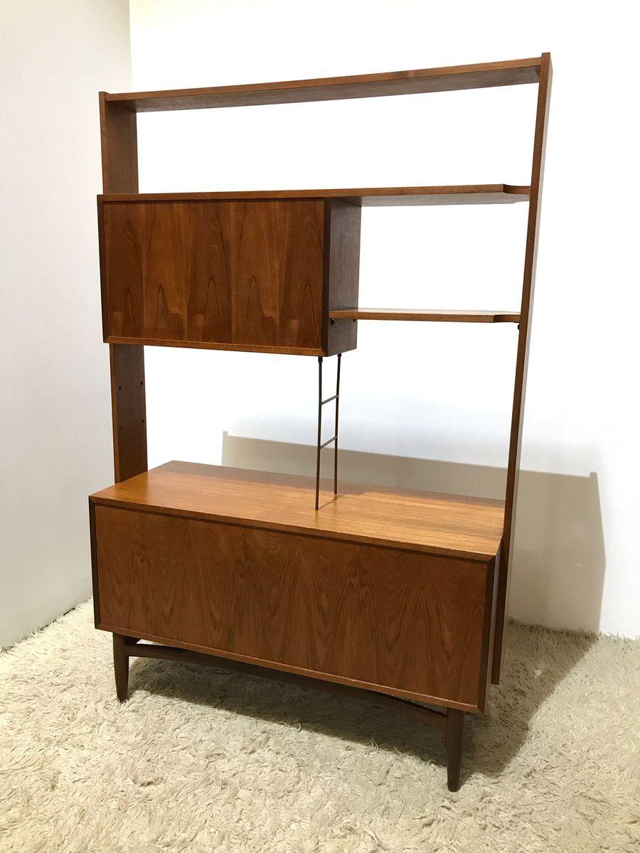 scandinavian series free standing shelving unit by victor. Black Bedroom Furniture Sets. Home Design Ideas