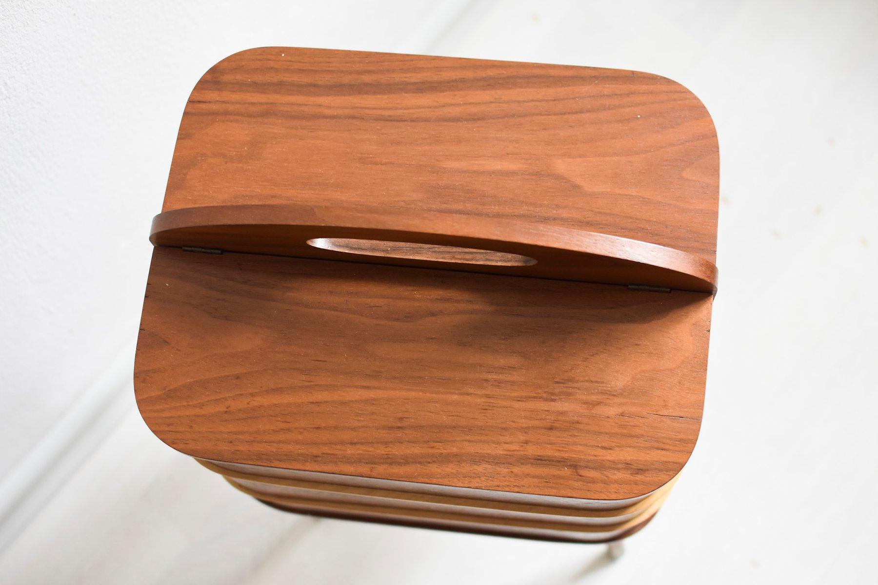 teak n hkasten 1960er bei pamono kaufen. Black Bedroom Furniture Sets. Home Design Ideas