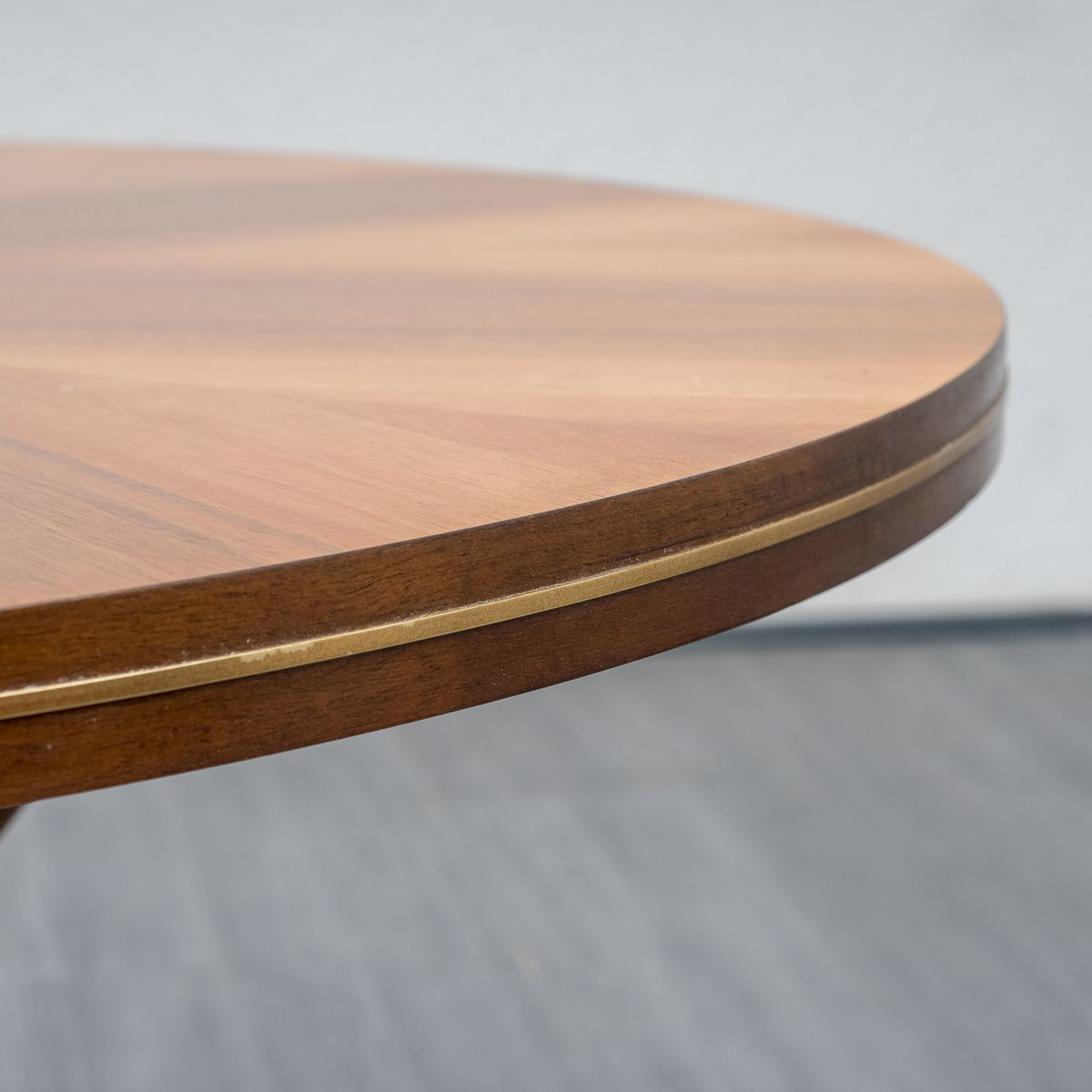 Coffee Table In Beech And Walnut Veneer 1950s For Sale At Pamono