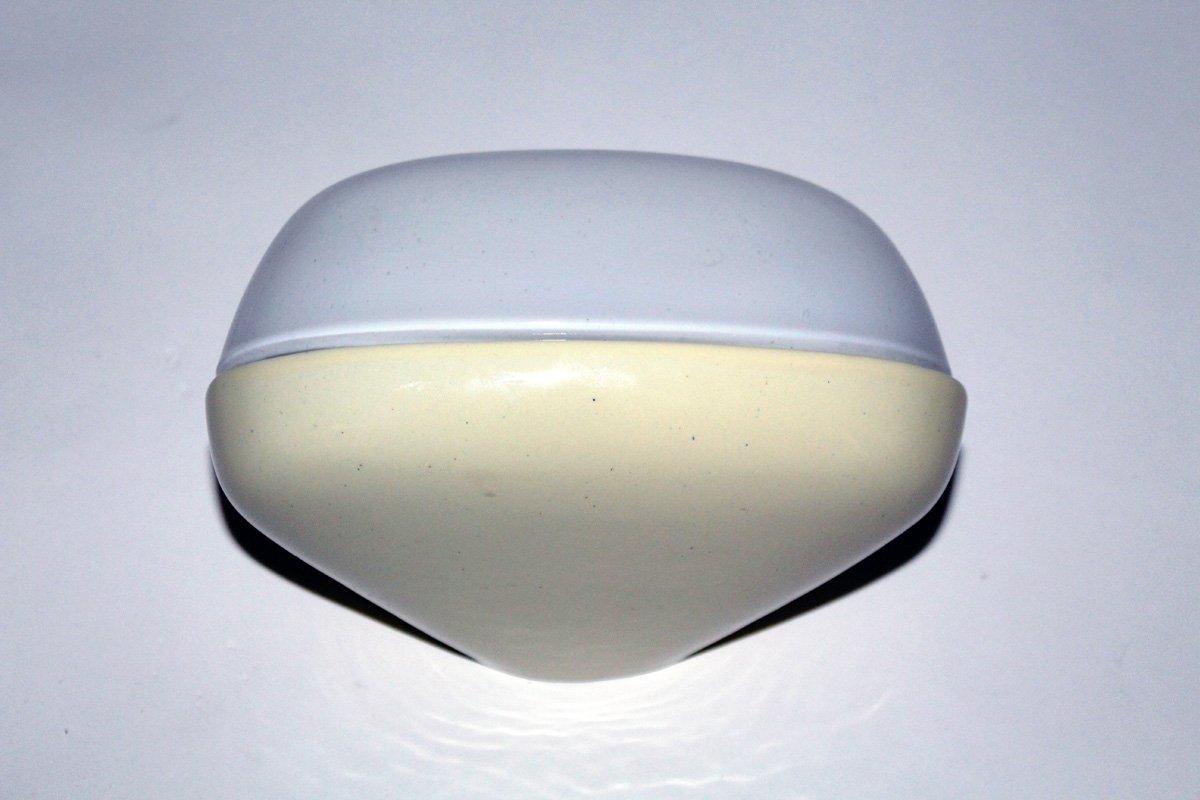 deutsche porzellan wandlampe von wilhelm wagenfeld f r. Black Bedroom Furniture Sets. Home Design Ideas