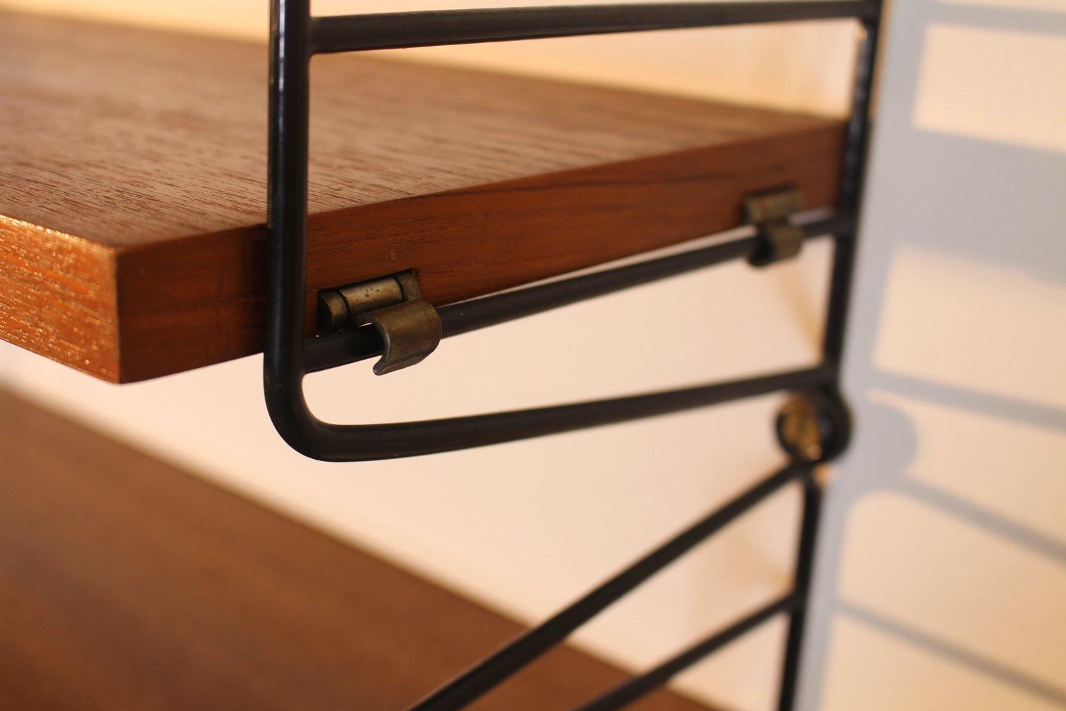 ladder shelf by nisse strinning for string 1950s for sale at pamono. Black Bedroom Furniture Sets. Home Design Ideas