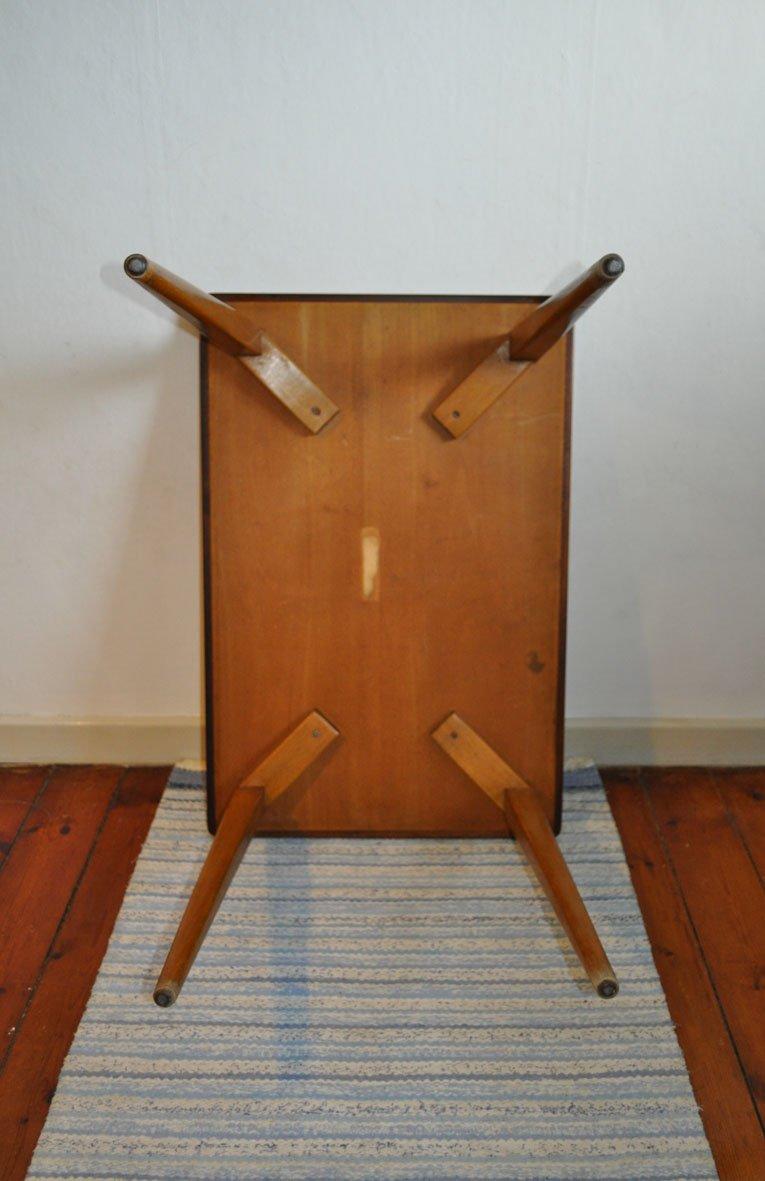 d nischer vintage beistelltisch aus holz bei pamono kaufen. Black Bedroom Furniture Sets. Home Design Ideas