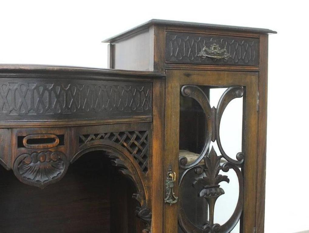 buffet art nouveau vintage france en vente sur pamono. Black Bedroom Furniture Sets. Home Design Ideas