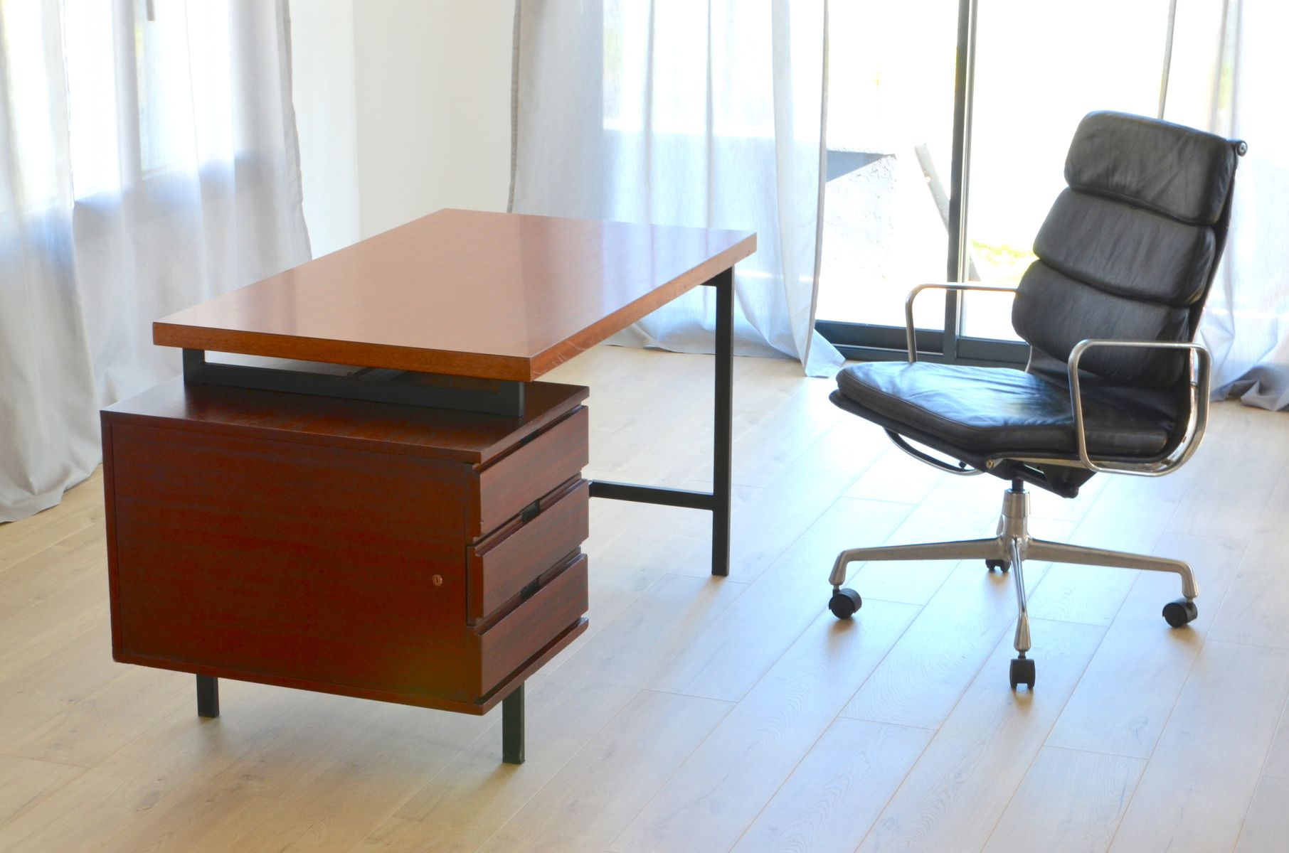 vintage ea219 office chair by charles eames for herman