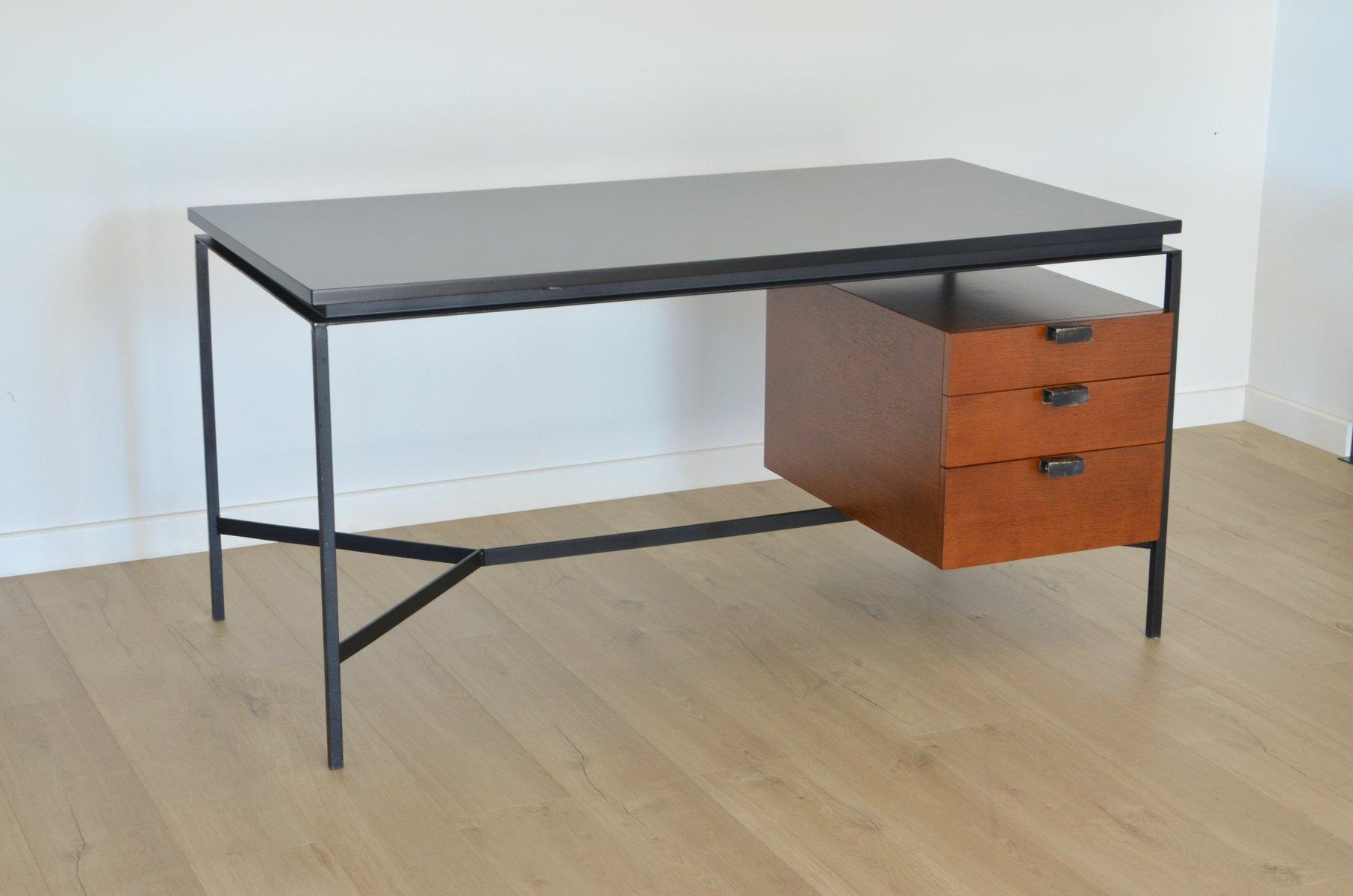 vintage cm172 schreibtisch von pierre paulin f r thonet. Black Bedroom Furniture Sets. Home Design Ideas