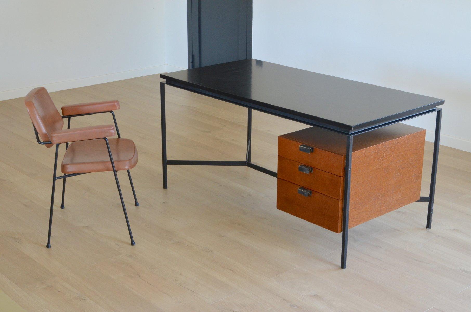 vintage cm172 schreibtisch von pierre paulin f r thonet bei pamono kaufen. Black Bedroom Furniture Sets. Home Design Ideas