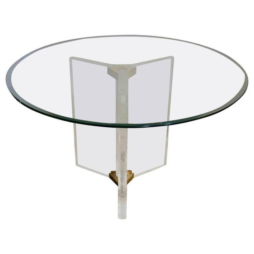 Vintage dining table from roche bobois for sale at pamono for Table ardoise roche bobois