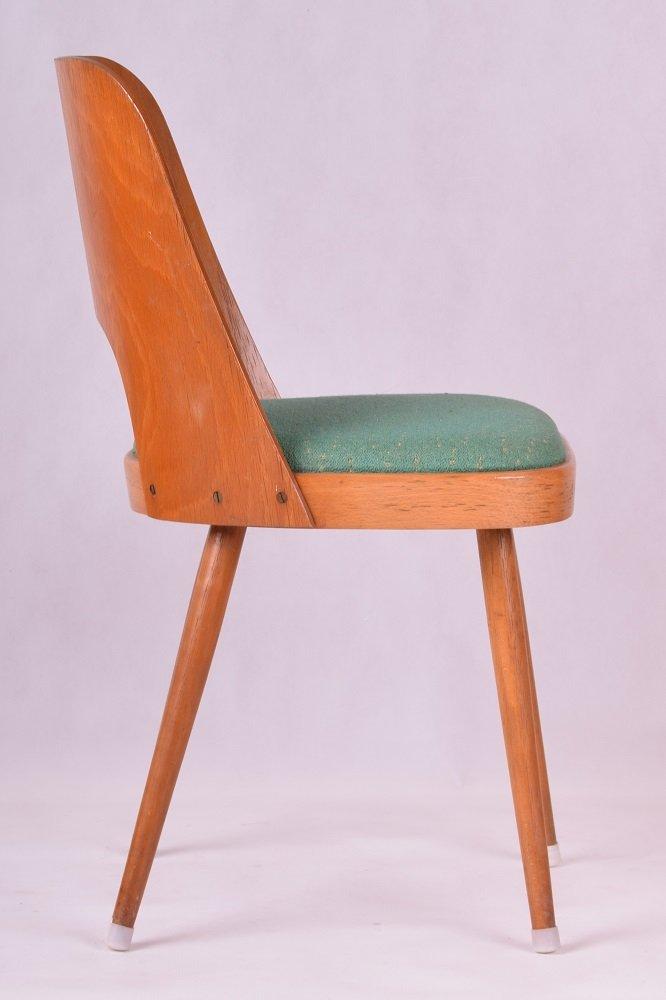 vintage esszimmerst hle von oswald haerdtl 4er set bei. Black Bedroom Furniture Sets. Home Design Ideas