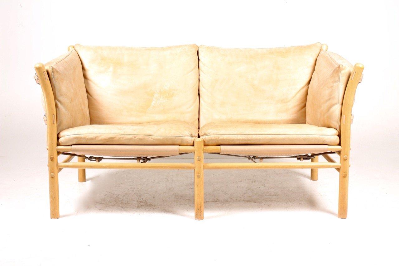 vintage ilona sofa aus patiniertem leder von arne norell bei pamono kaufen. Black Bedroom Furniture Sets. Home Design Ideas