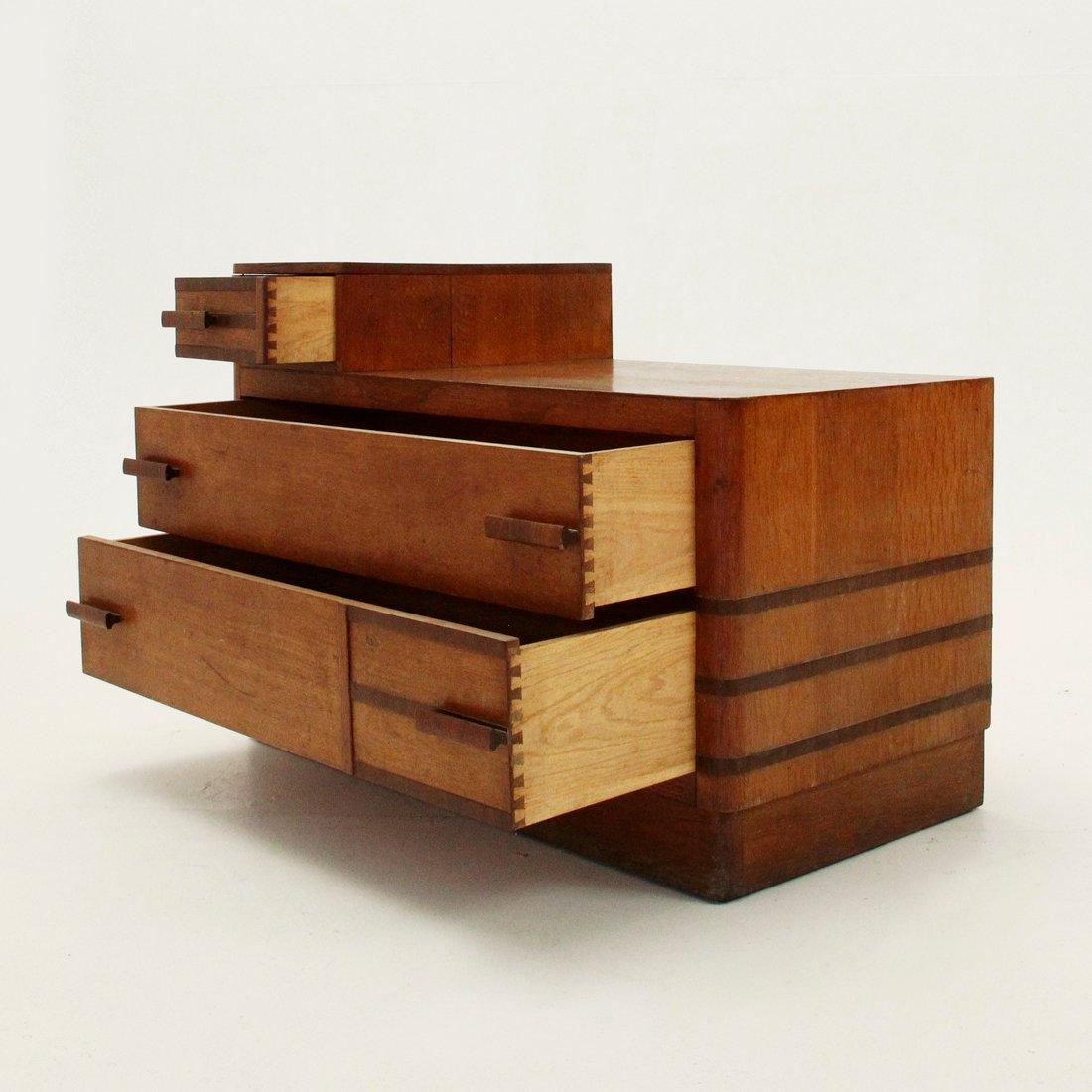 italienische rationalistische kommode 1940er bei pamono kaufen. Black Bedroom Furniture Sets. Home Design Ideas