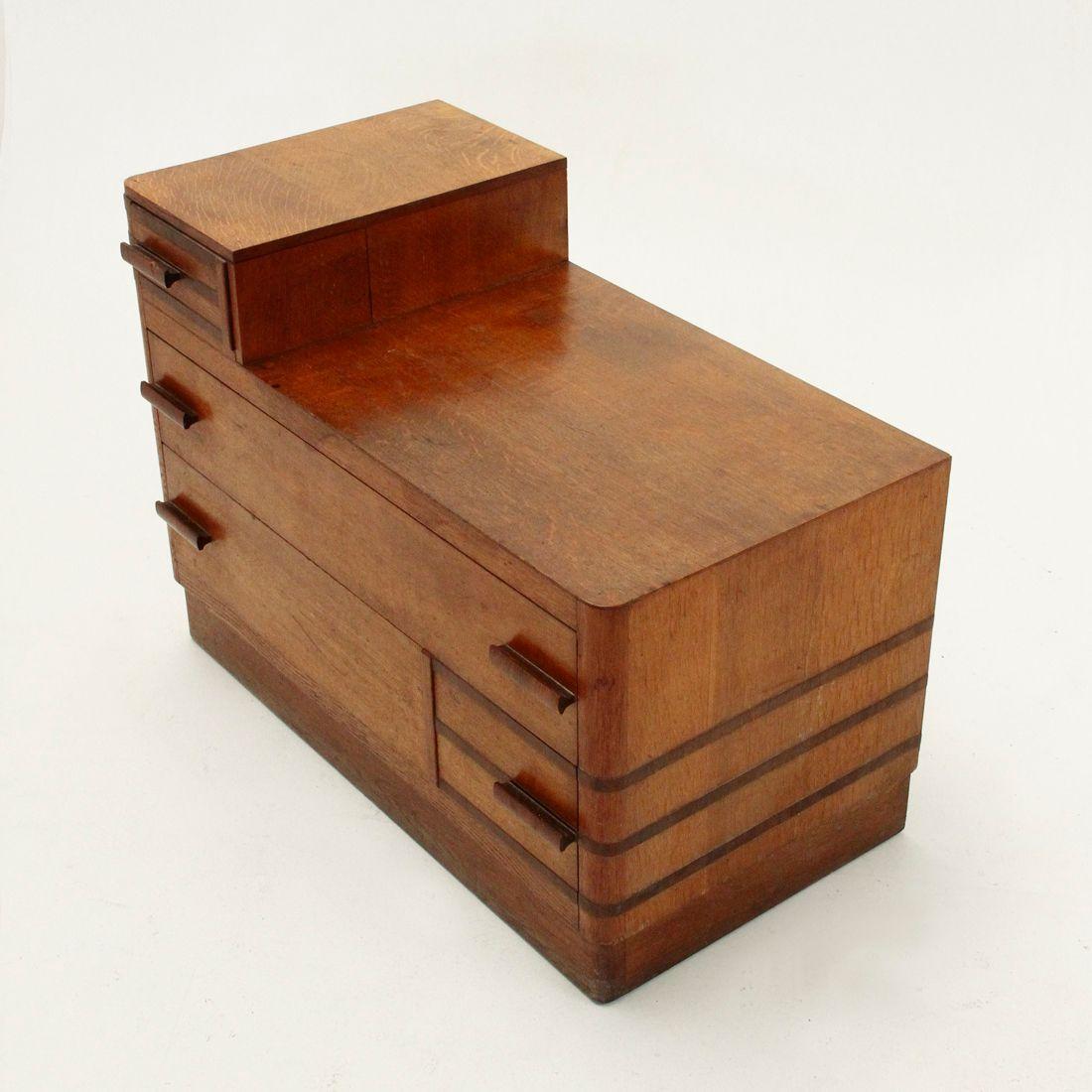italienische rationalistische kommode 1940er bei pamono. Black Bedroom Furniture Sets. Home Design Ideas