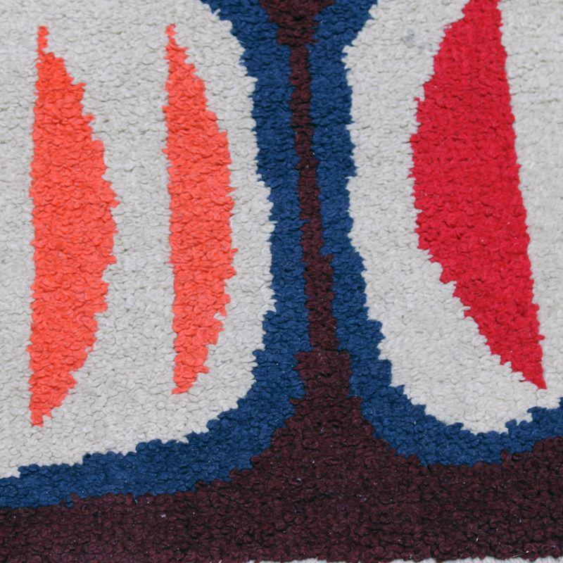 skandinavischer vintage teppich bei pamono kaufen. Black Bedroom Furniture Sets. Home Design Ideas