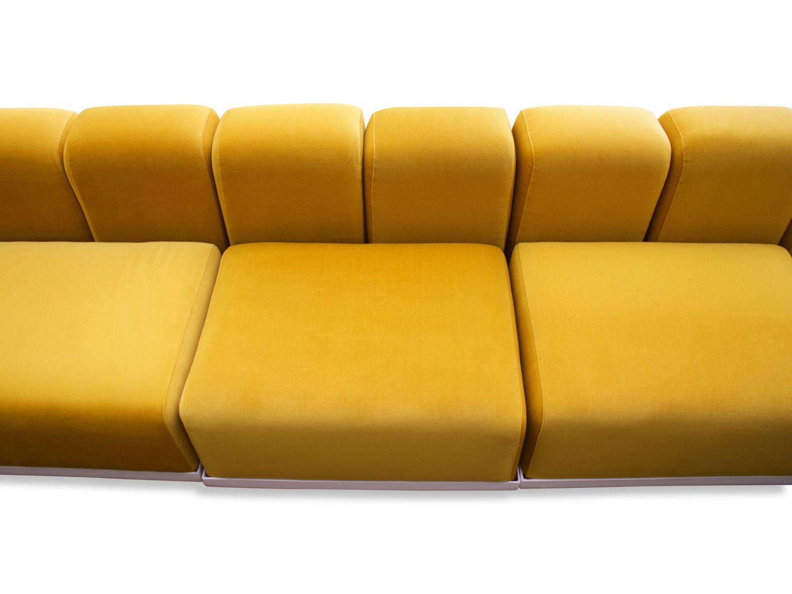 Cooldesign Yellow Sectional sofa