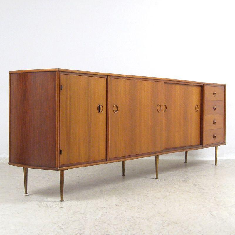 gro es vintage sideboard von william watting f r fristho. Black Bedroom Furniture Sets. Home Design Ideas