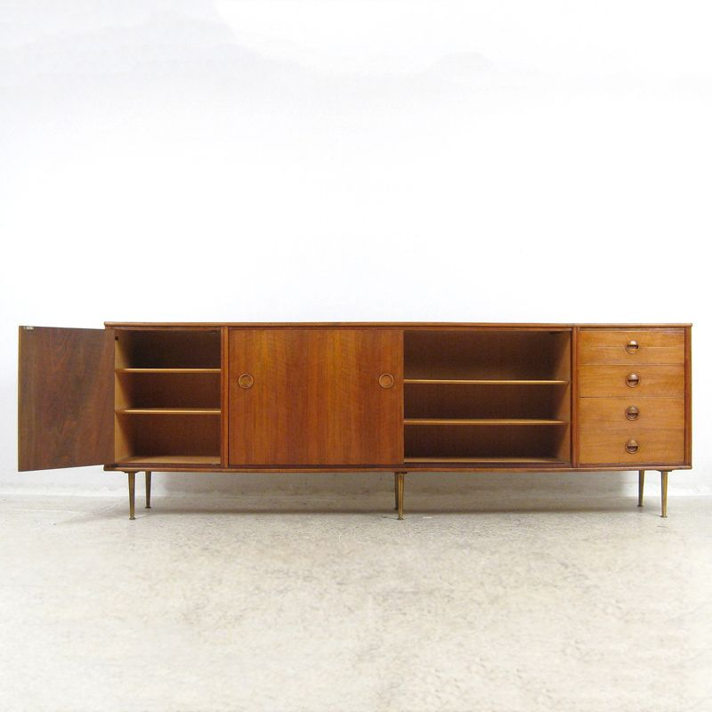 Price per piece - Vintage Large Sideboard By William Watting For Fristho Holland For