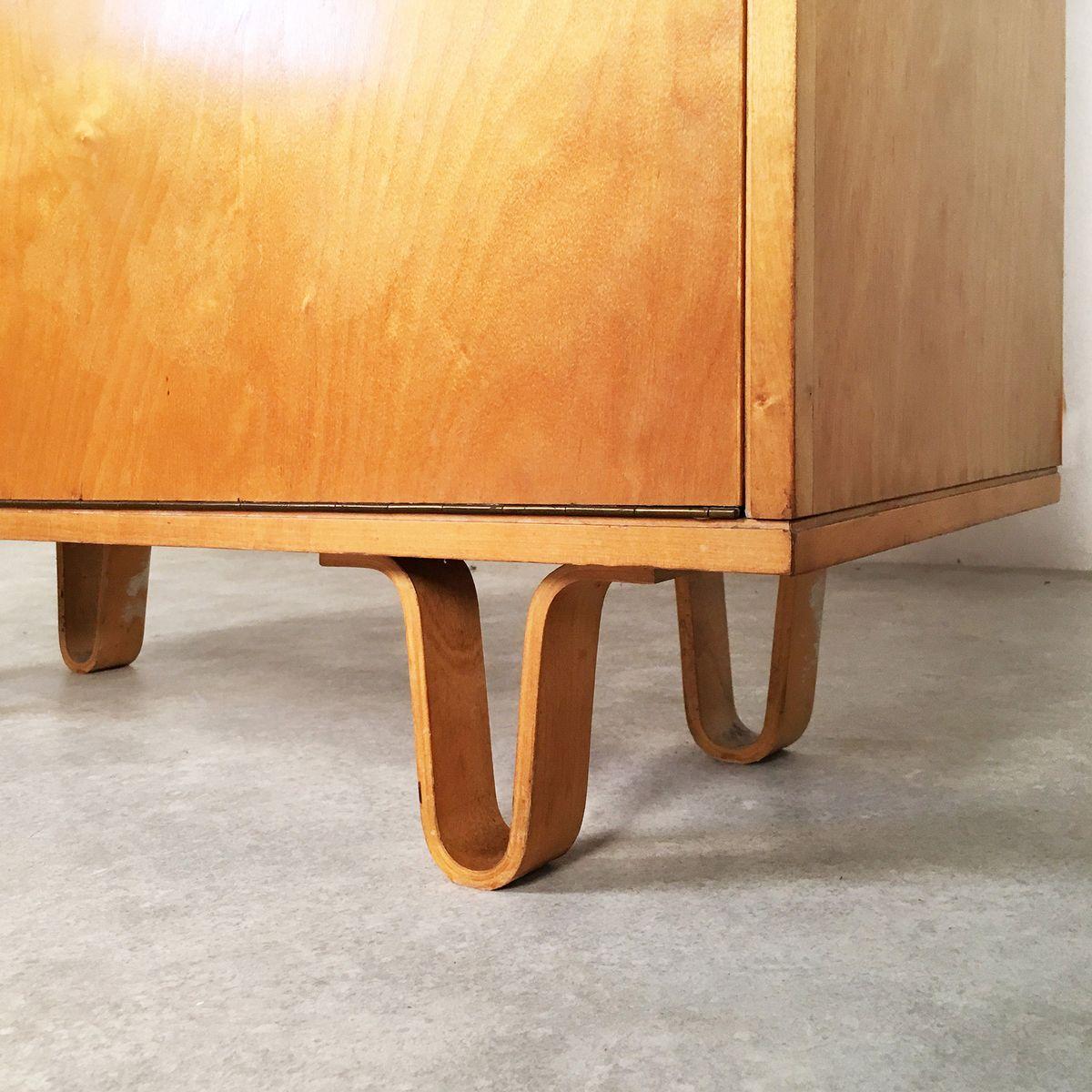 vintage birch series b cherregal von cees braakman f r. Black Bedroom Furniture Sets. Home Design Ideas
