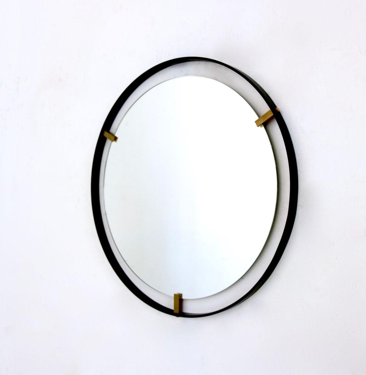 Italian Minimalist Mirrors 1950s Set Of 2 For Sale At Pamono