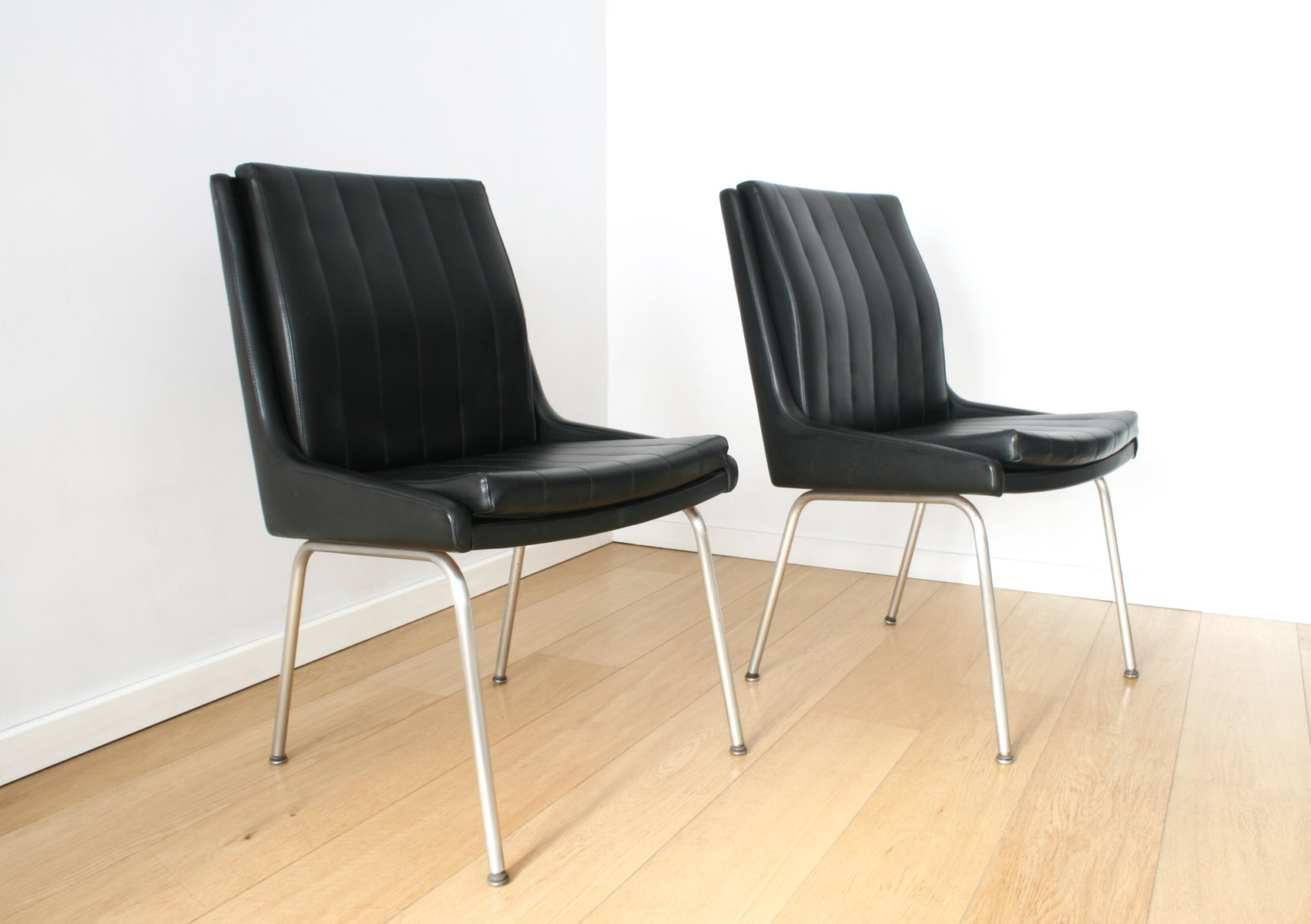 Mid Century Conference Chairs by Martin Stoll for Giroflex Set of