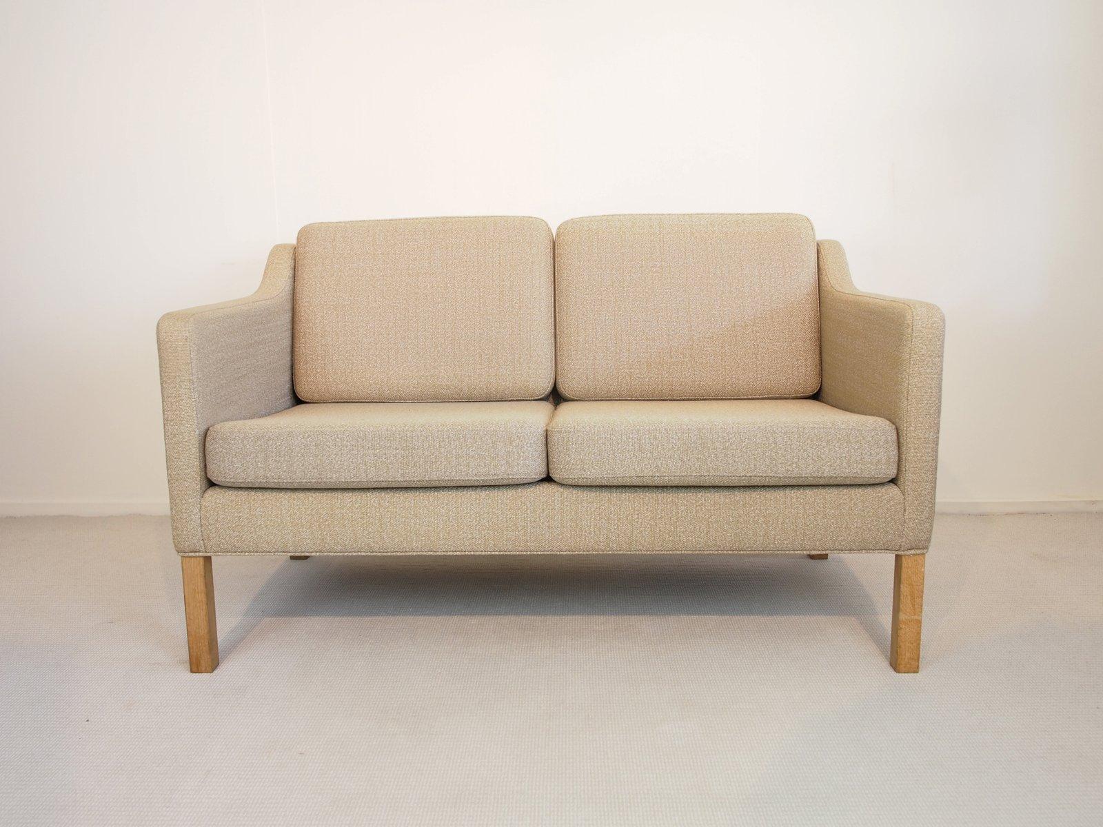 vintage modell 2322 zwei sitzer sofa von b rge mogensen f r frederica bei pamono kaufen. Black Bedroom Furniture Sets. Home Design Ideas