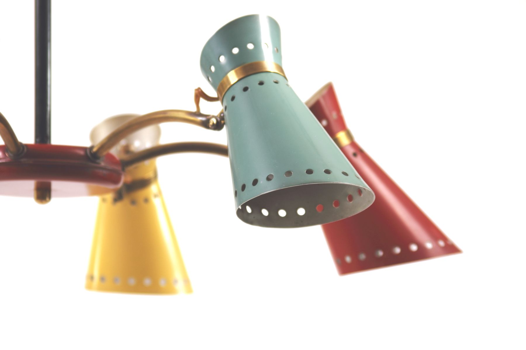 Lampe suspension diabolo vintage par pierre guariche pour stilnovo france - Lampe suspension vintage ...