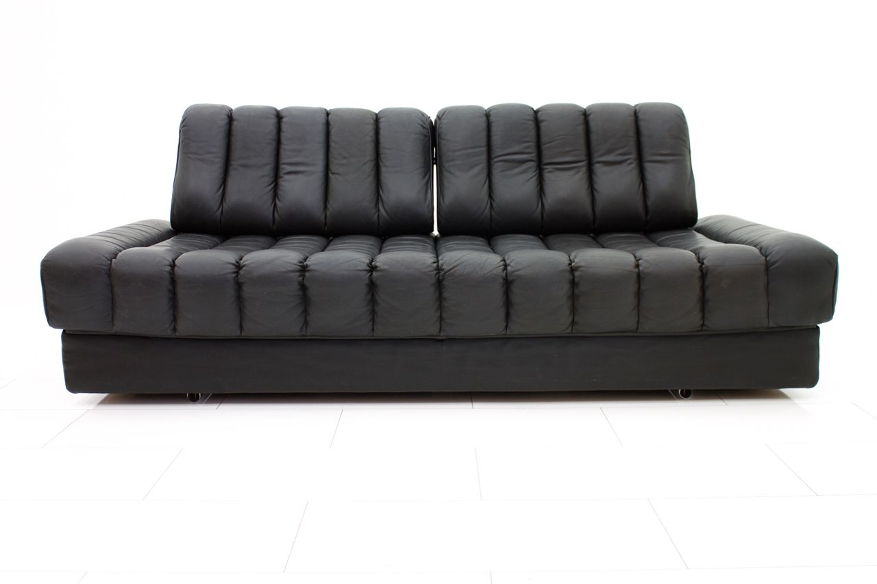 canap et divan ds 85 en cuir de de sede suisse 1960s en. Black Bedroom Furniture Sets. Home Design Ideas