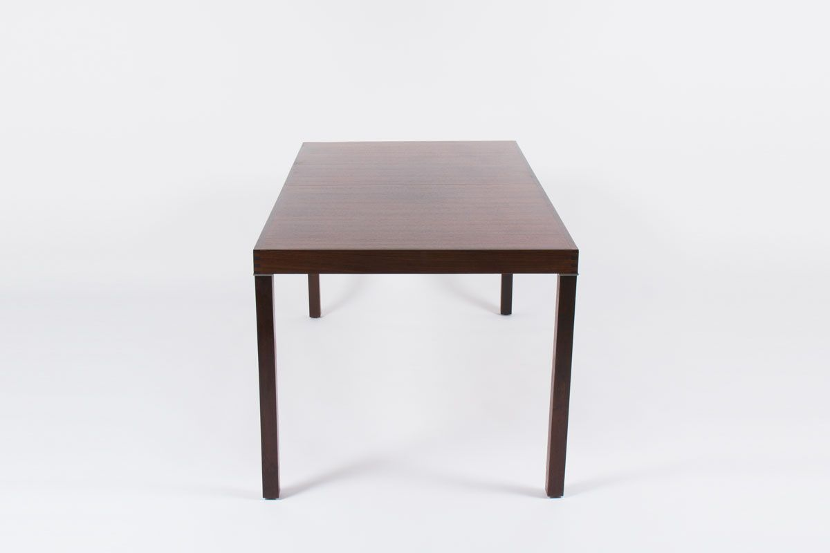 Table de salle manger extensible en palissandre par for 3 suisses table de salle a manger