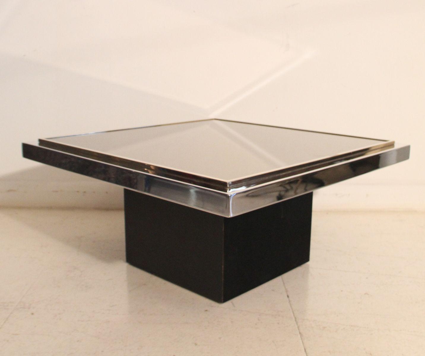 vergoldeter verspiegelter und verchromter vintage. Black Bedroom Furniture Sets. Home Design Ideas