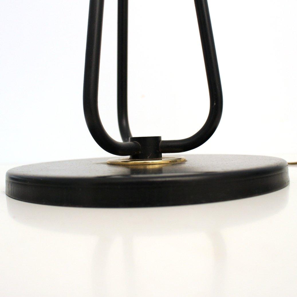 franz sische stehlampe mit drei leuchten von lunel 1950er. Black Bedroom Furniture Sets. Home Design Ideas