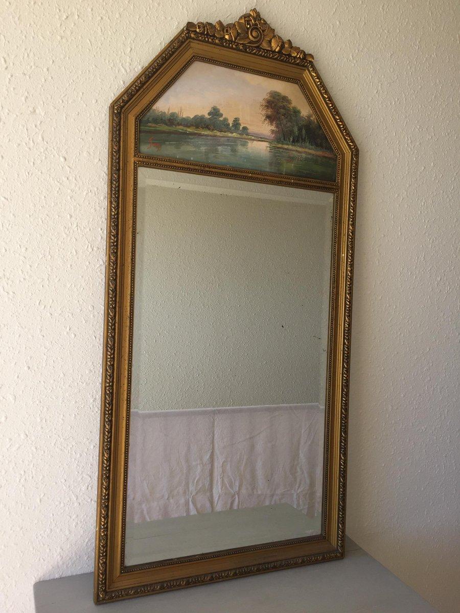Miroir vintage trumeau en vente sur pamono for Miroir en solde