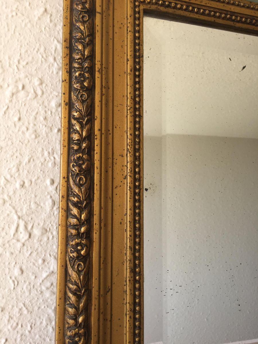 miroir vintage trumeau en vente sur pamono. Black Bedroom Furniture Sets. Home Design Ideas