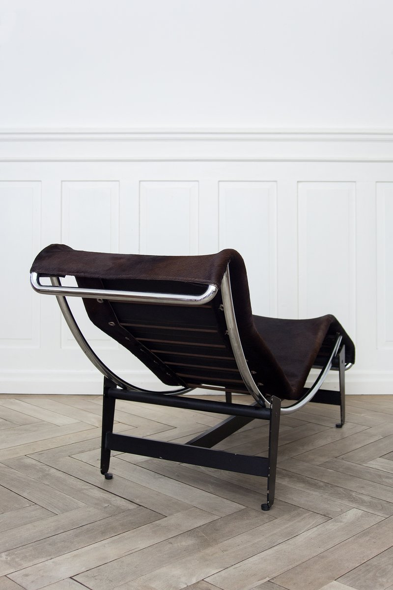 Lc4 b306 chaise longue by le corbusier pierre janneret for Chaise lounge corbusier