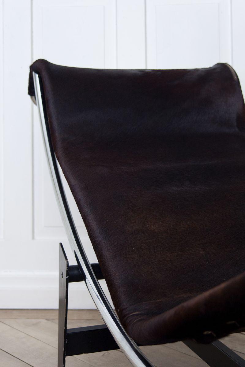 Lc4 b306 chaise longue by le corbusier pierre janneret for Chaise longue le corbusier medidas