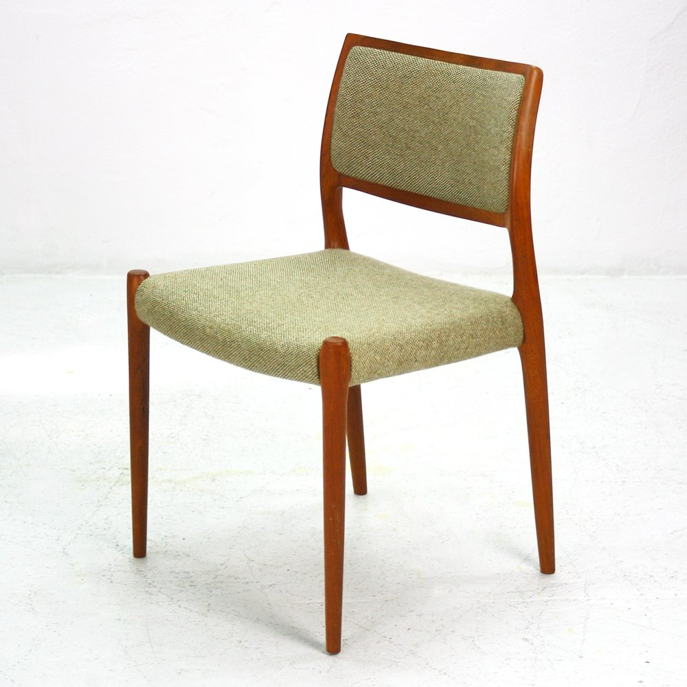 Vintage Teak Dining Chairs Set Of 4 For Sale At Pamono