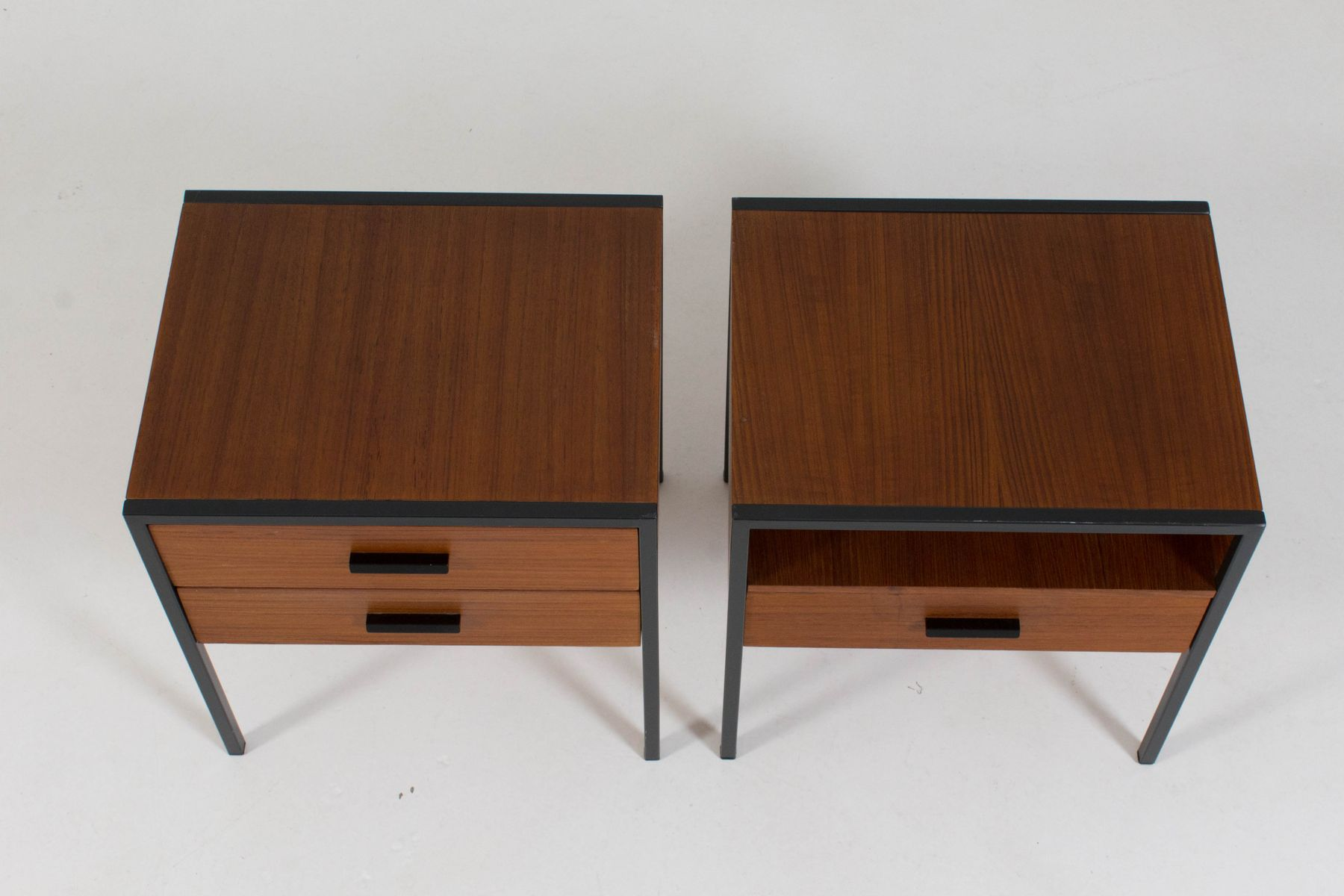 Mid century modern nightstands by cees braakman for pastoe for Modern nightstands for sale